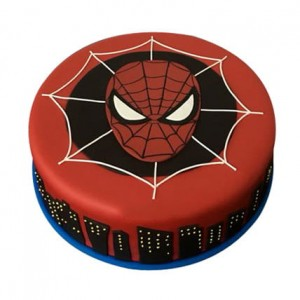 Spiderman Drawing Cake