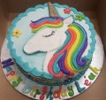 Unicorn Drawing Birthday Cakes