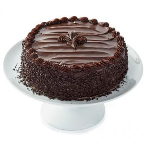 Choco Fudge Fresh Cream Cake