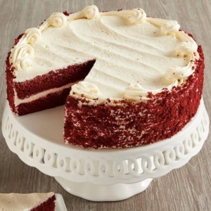 Red Velvette Cheese Cake (Eggless)