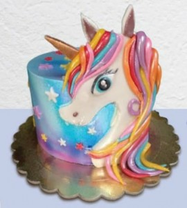 Unicorn Tall Cake