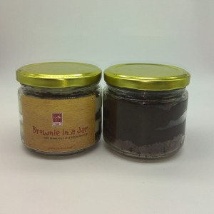 Brownie In A Jar (Choco Fudge & Eggless)