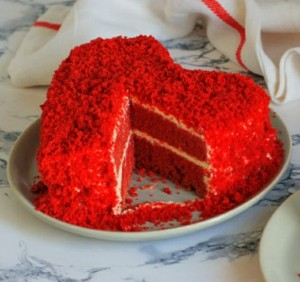 Hearty Red Velvet Cheese Cake