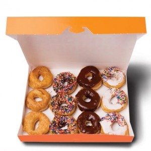 Donuts Gifts Box (12 Assorted Donuts)