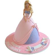 Barbie Cake (Standing)