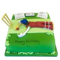 Cricket Stadium Fondant Birthday Cakes in Chennai