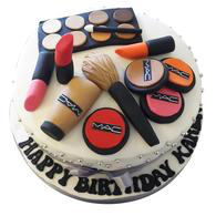 Mac Makeup Fondant Birthday Cakes in Chennai